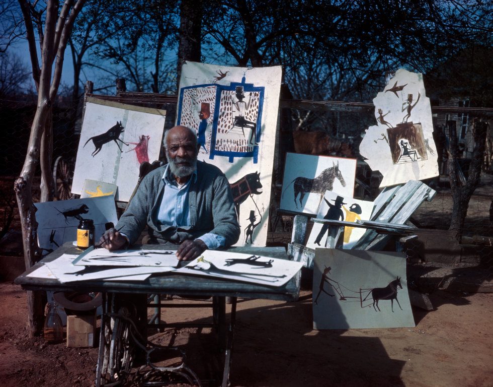 Bill Traylor. Photo by Horace Perry, Courtesy Alabama State Council on the Arts.