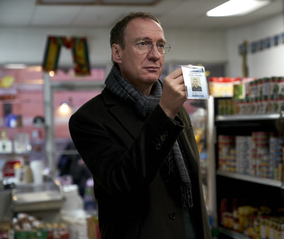 David Thewlis in a scene from <i>Guest of Honour</i>, courtesy Kino Lorber
