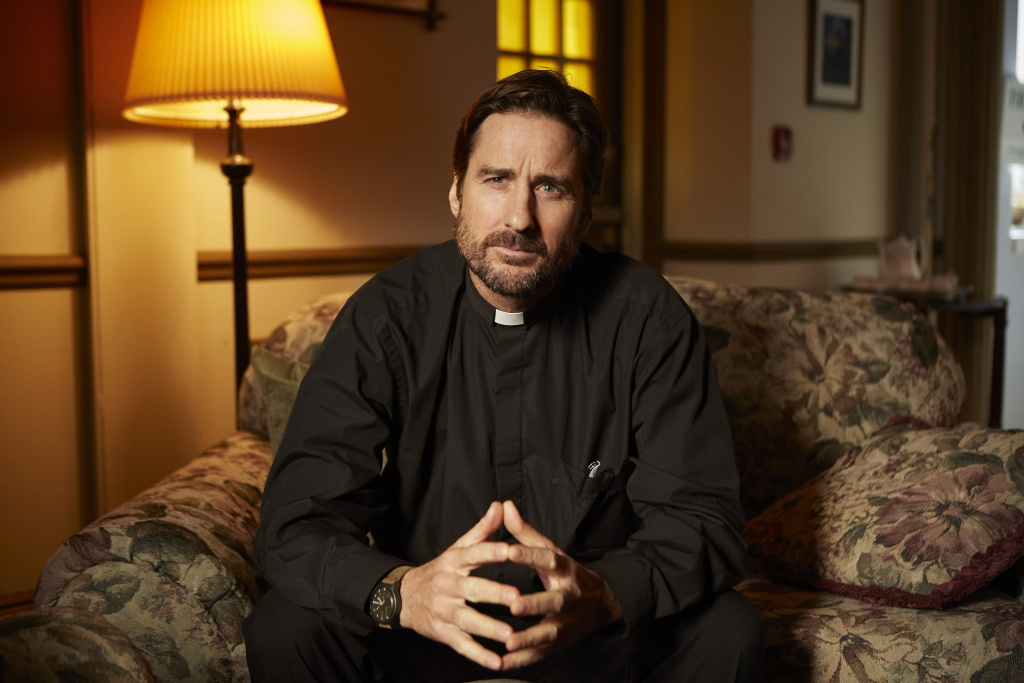 Luke Wilson in a scene from <i>Guest of Honour</i>, courtesy Kino Lorber