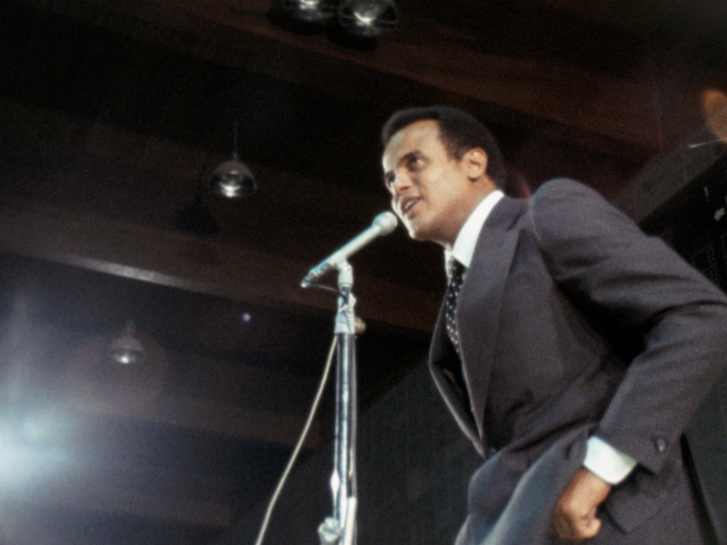 Harry Belafonte in a scene from <i>Nationtime</i>, courtesy Kino Lorber