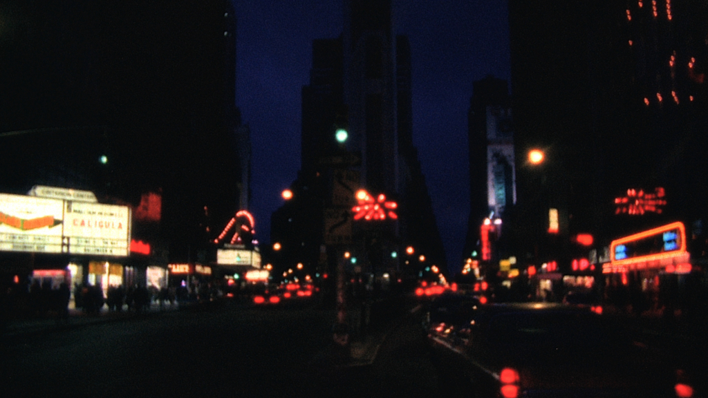 Times Square at night in Bette Gordon's VARIETY.